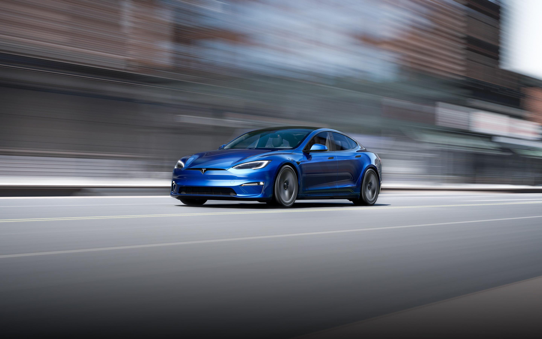 蓝色款 Model S 图片