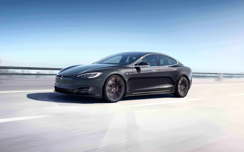 黑色 Model S